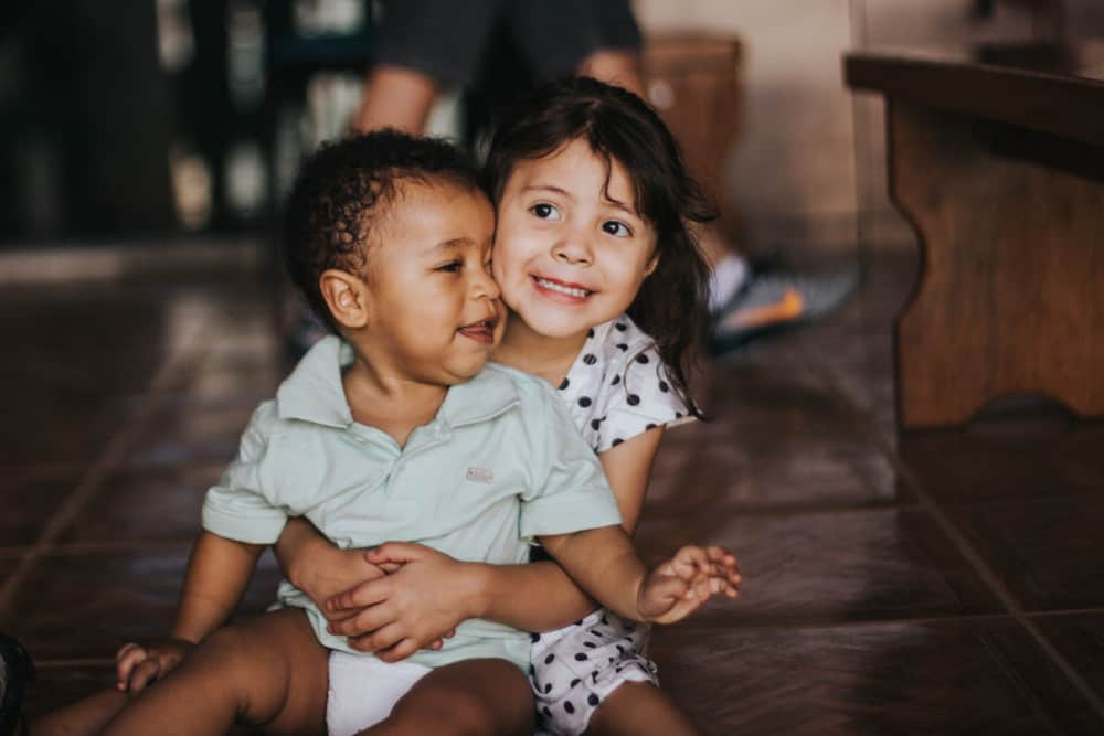 Diversity is important in ECE - Little Girl Hold Toddler